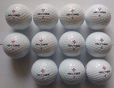 TriCyber(3-piece) Golf Balls 11 balls, Tournament Ball