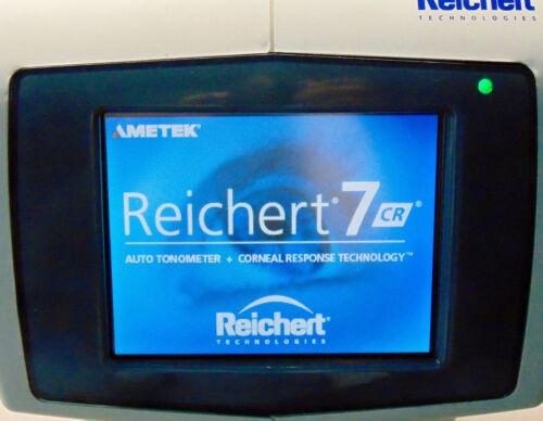 Reichert 7CR Auto Tonometer with Transport Case