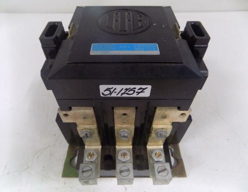 I-T-E SIZE 3 MOTOR STARTER 220v COIL A103E