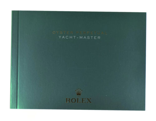 Rolex Yacht-Master Booklet Manual English 2019