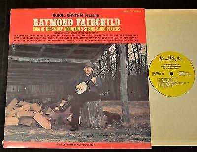 Raymond Fairchild Rural Rhythm 256 King Of The Smokey Mountain Five String Banjo