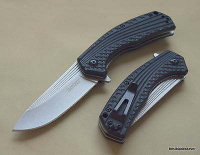 Kershaw Portal Spring Assisted Knife With Pocket Clip  Razor Sharp  Blade New