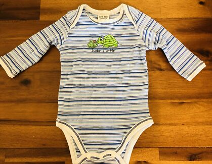 Sprout Baby Boy Whale Romper Size 00 Baby Clothing Gumtree
