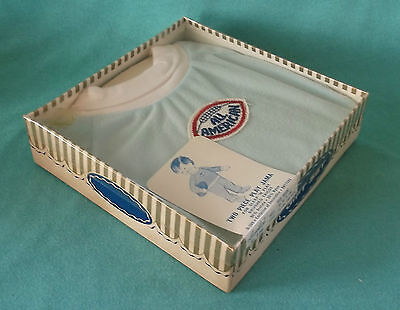 MIP Two Piece Sleep & Play Jama ~ All American Brushed Tricot ~ in Orig Pkg