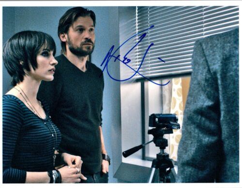Nikolaj Coster Waldau Signed Autographed 8x10 Photo Game of Thrones COA VD