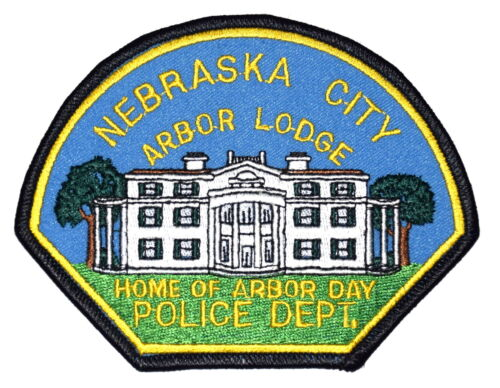 NEBRASKA CITY – ARBOR LODGE - NEBRASKA NE Police Sheriff Patch