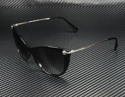 Versace VE4345B GB1/11 BLACK GRAY GRADIENT 57 mm Women's (Luxottica Sunglass)