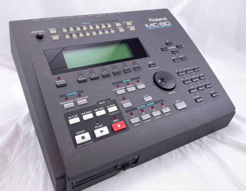Roland MC 30 includes power cable, VE-GS Pro expansion card, Beautiful Condition