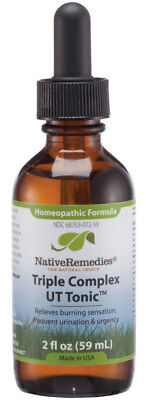 Native Remedies Triple Complex UT Tonic - Natural Homeopathic Formula to Relieve