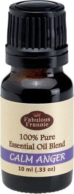 Calm Anger Pure Essentail Oil Blend 10Ml By Fabulous Frannie Buy 3 Get 1
