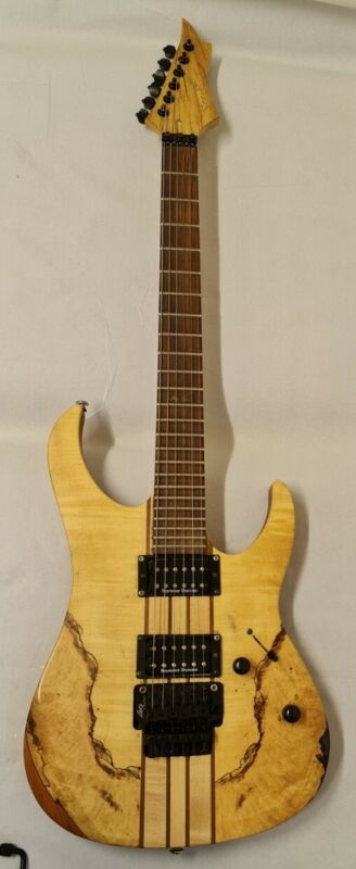 Spear Guitar scalloped  through neck