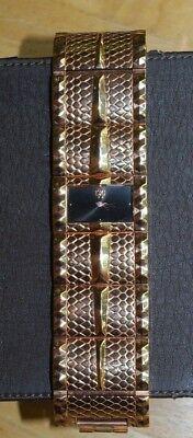 Robert Cavalli Women's Keira Rose Gold Tone Watch Fashion Bracelet #R7253272715