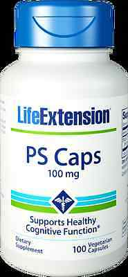 (Life Extension PS Caps 100 mg Dietary Supplement | 100 Vegetarian Capsules)