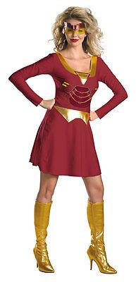 Ironette Klassisch Weiblich Erwachsene Kostüm Marvel (Iron Man Weibliche Kostüm)