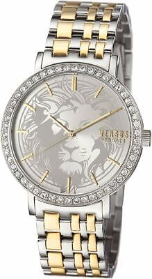 Versus by Versace Women's S24100016 MANHASSET Swavorski Crystals Silver Watch