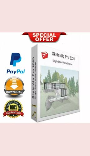 SketchUp Pro 2020 ✅Lifetime activation for windows💥✅ (latest full version✅)
