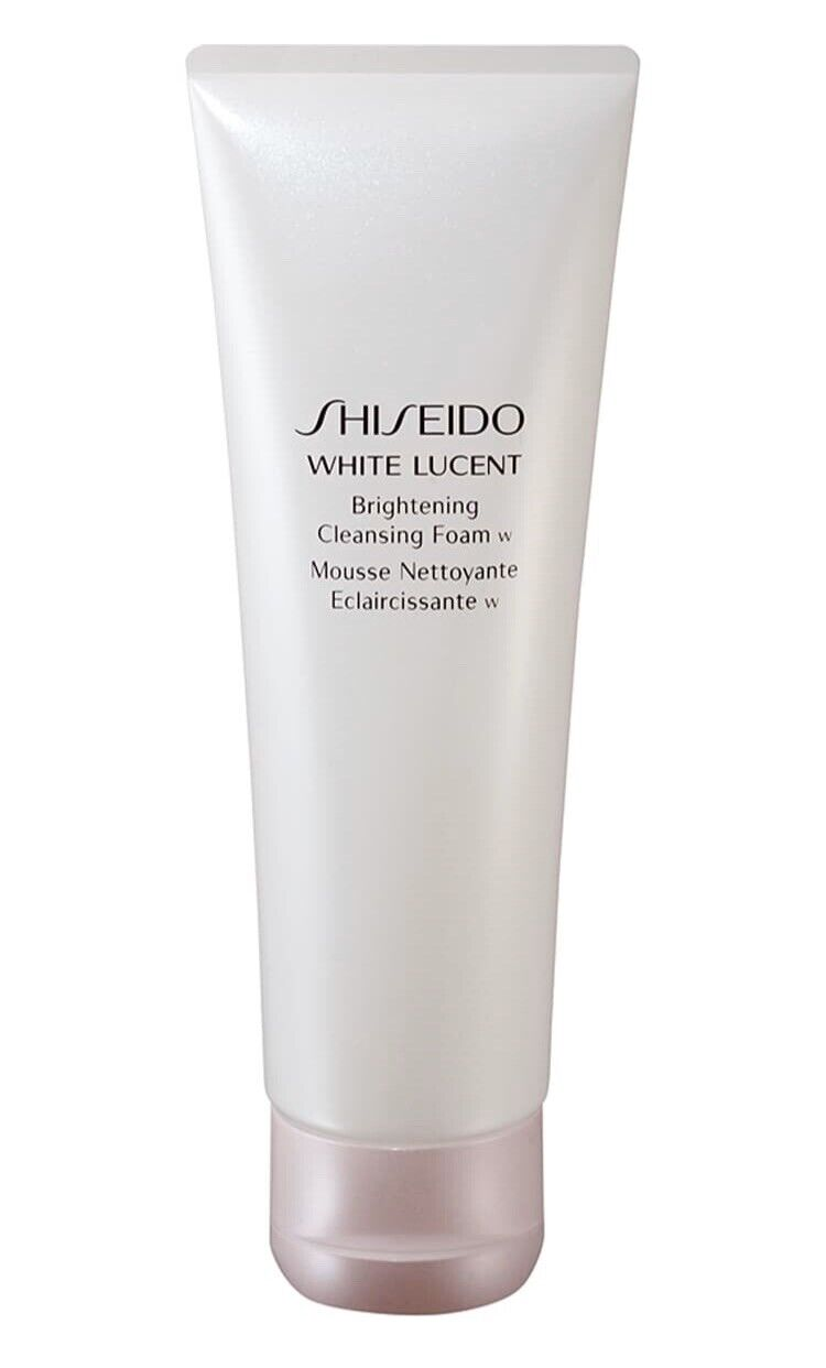 Shiseido White Lucent Brightening Cleansing Foam for Unisex,