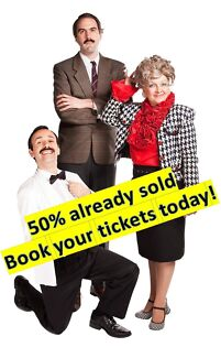 3 Tickets To Faulty Towers Dinner And Show