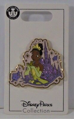 Disney Parks Collection Glitter Castle Princess & the Frog Tiana Pin NEW CUTE