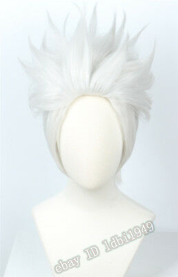 Ursula Wig Short Sliver White Cosplay Halloween Costume Wig for Women](Ursula Wigs)