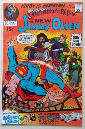Superman's Ex Pal The New Jimmy Olsen #133