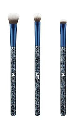 NIB IT Brushes Ulta Limited Edition Your Starry Eye Brush Trio - Crease Smudge