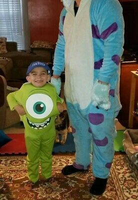 Baby Monsters Inc Costumes (Disney Pixar Monsters Inc, Monsters University Child costume Mike m 3t-4t W)