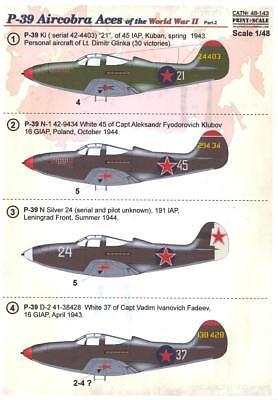 Model Maker 1//48 BELL P-39 P-400 AIRACOBRA Kabuki Tape Paint Mask Set Eduard