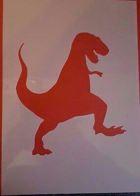 1259 Schablonen Dinosaurier Wandtattoos Stencil Leinwand Textilgestaltung Urwald Dinosaurier Schablonen