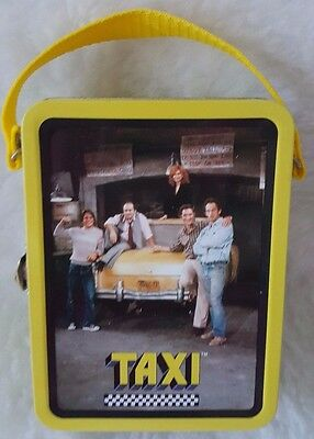 The Tin Box Company Multi Color Paramount Pictures Taxi Small Metal Lunch Box