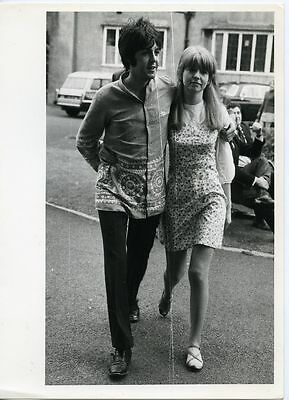 Original vintage Foto 1967 The Beatles Paul McCartney Jone Asher