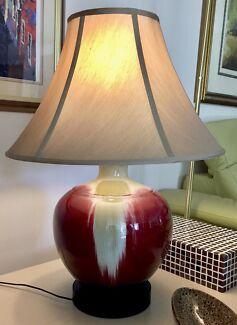 Large Ceramic Lamp Base + Shade