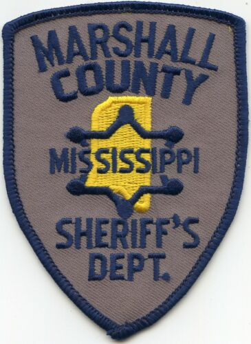 MARSHALL COUNTY MISSISSIPPI MS SHERIFF POLICE PATCH
