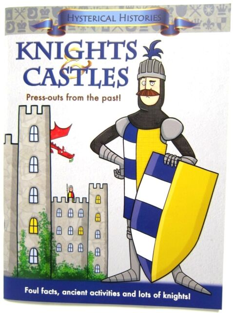 Knights & Castles Medieval Children History Activity Book Middle Ages Dragons