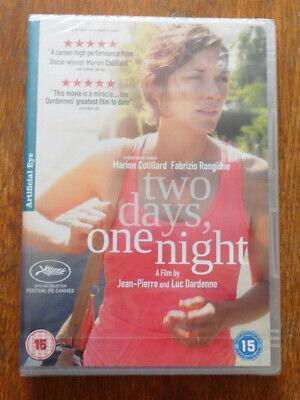 Two Days, One Night (2014) DVD Jean-Pierre Dardenne Luc Dardenne Artificial Eye