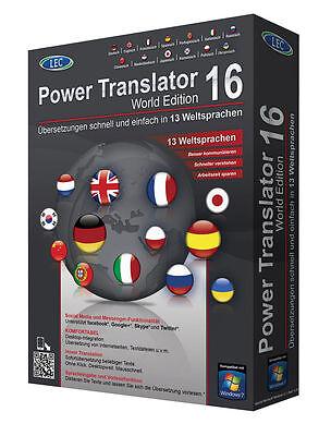 Power Translator 16  LEC CD/DVD 13 Sprachen EAN 402312611321 DriverGenius 12 CD  online kaufen