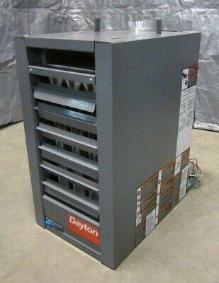 Liquid Gas Unit Heater Propeller Fan 45000btuh 36450btuh 2400cfm 2.1a 120v