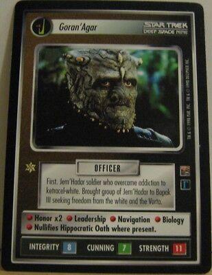 Star Trek TNG CCG Dominion Goran'Agar Rare Card