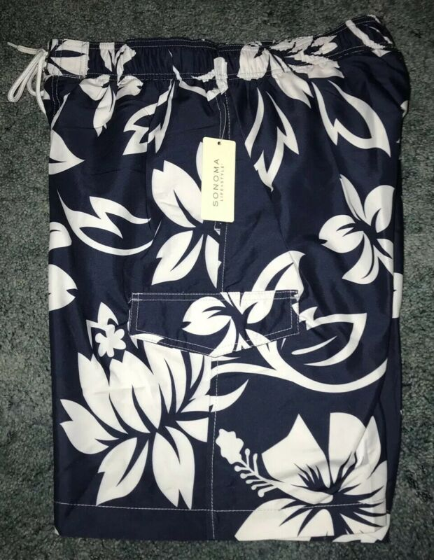 cfbbc799dd FNISTA | Tropical-Print Swim Trunks