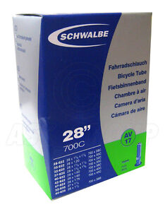 Schwalbe AV17 Schrader Tube - 28