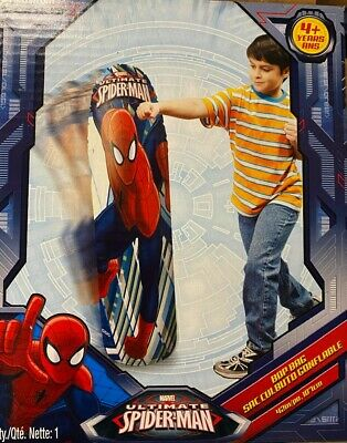 SPIDER MAN 36 INCH CHILDREN/'S BOP PUNCHING BAG SPORTS TOY FUN ACTIVE KIDS NEW