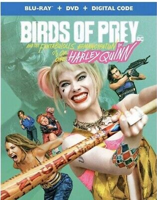 BIRDS OF PREY(BLU-RAY+DVD+DIGITAL)W/SLIPCOVER NEW FREE SHIPPING