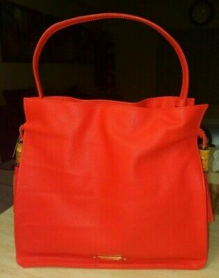 nwt the roxy Collection  tangerine color Olivia an Joy tote New York
