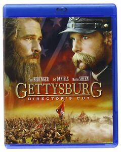 GETTYSBURG  : The Director's Cut  -  Blu Ray - Sealed Region free