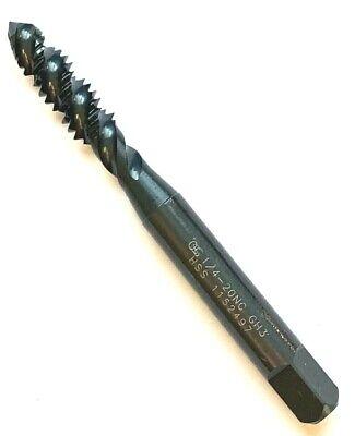 14-20 Gh3 3flute Spiral Flute Plug Tap -black Oxide- Osg 1430001 -new