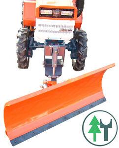 Schneeschild 120cm 1,20m hydraulisch Kleintraktor Kubota Iseki Räumschild