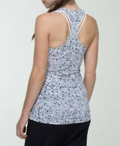 ❤️LULULEMON GREY CAMO SUPER SOFT TANK! LIKE NEW!