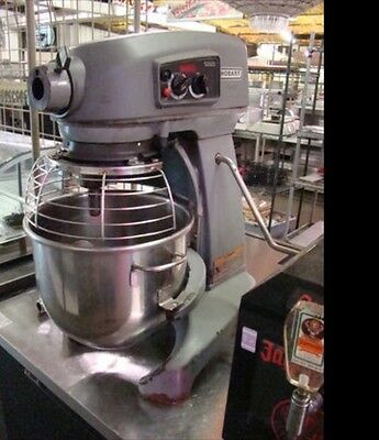 Hobart Hl200 20 Quart Commercial Mixer With Bowl And Whip Attachment- Smooth