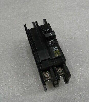 Qou245 Square D Circuit Breaker 2 Pole 45 Amp 120240v New No Box