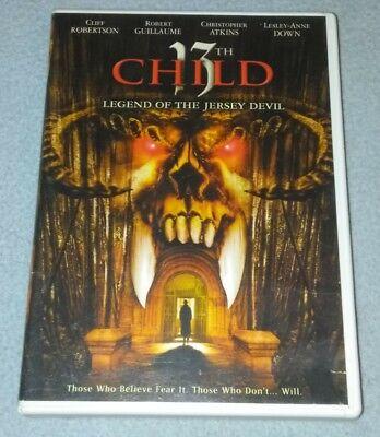 13th Child Legend of the Jersey Devil (DVD) *RARE opp *HORROR - 13 Horrors Of Halloween